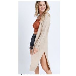 🆕 The Softest Long Cardigan EVER in Oatmeal